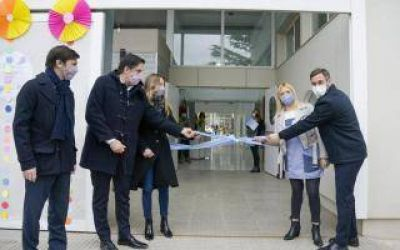 Pilar: Achával y Trotta inauguraron un jardín de infantes en Lagomarsino