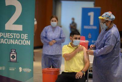 Covid-19: el 52% de los cordobeses mayores de 18 años ya fue vacunado