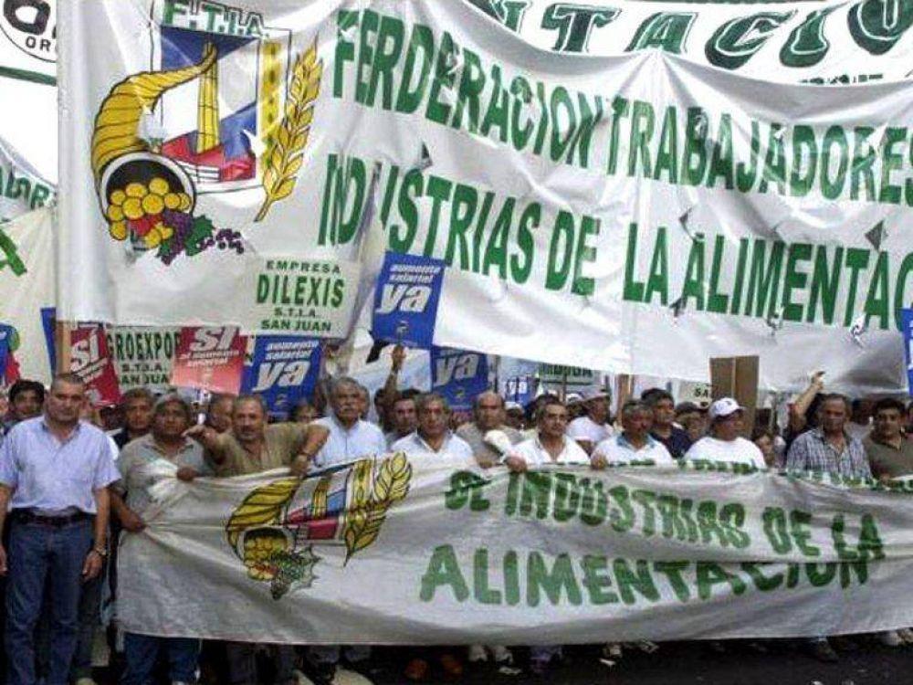 El Sindicato de Alimentación firmó un aumento para 2021 que supera la nueva pauta salarial del 40%