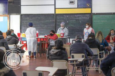 En el primer día de vacunación libre ampliada, fue récord la cantidad de aplicaciones en Mar del Plata