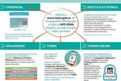 IOMA comenzó a implementar un nuevo sistema digital para el inicio de trámites: lo que hay que saber