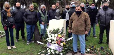 El Sindicato Químico participó del homenaje a Juan Domingo Perón en Escobar