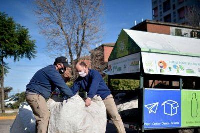 La Ruta Verde suma más paradas y su modelo de reciclaje se impone con éxito en ocho localidades bonaerenses