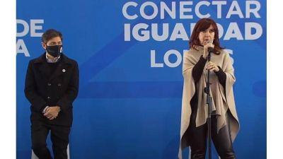 Cristina instó a la oposición