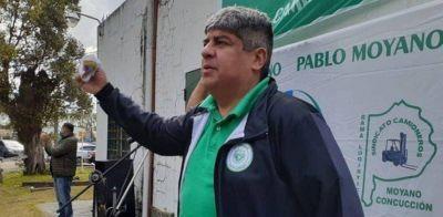 Pablo Moyano tildó de «gorilas» a quienes quieren reformar las indemnizaciones y avisó que buscará la unidad de la CGT para combatirlo