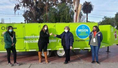 El Operativo Misión Buen Ambiente llegó a San Martín