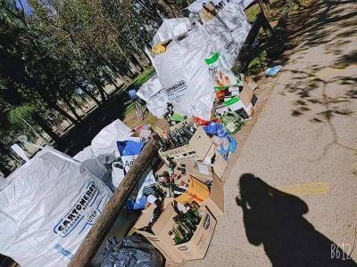 Cartoneros y recicladores locales por una ley