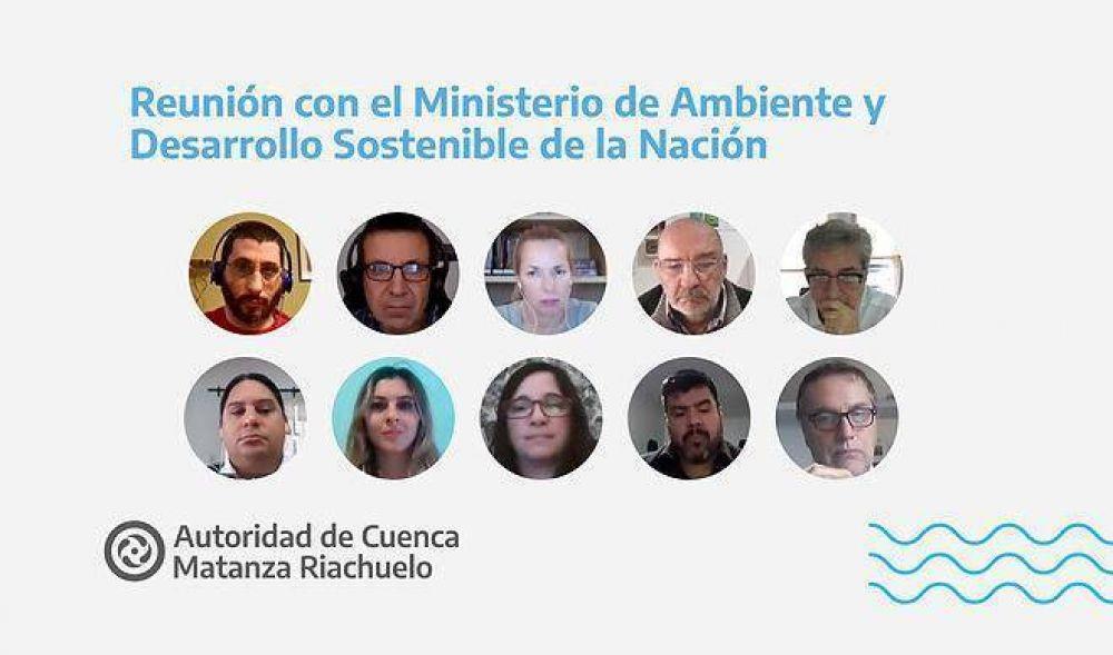 ACUMAR aportará datos de la Cuenca al Centro de Información Ambiental