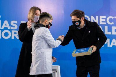 El gobierno bonaerense amplió la ayuda alimentaria en las escuelas de la Provincia de Buenos Aires