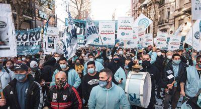Sanidad: Daer desafió la conciliación obligatoria con una movilización en la Ciudad