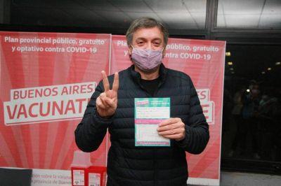 Kreplak confirmó que Máximo Kirchner se vacunó contra el COVID-19
