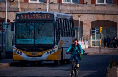 Transporte público: aumentaron las frecuencias a un 65% y buscan reforzar horas pico