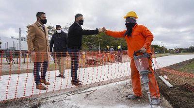 Vicente López continúa transformando su costa pública: avanza la obra de la bicisenda