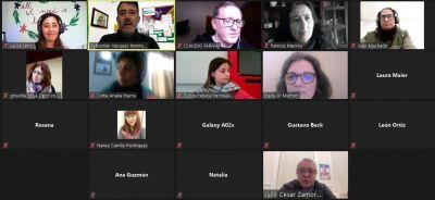 El intendente Julio Zamora participó del taller virtual sobre Varones y Masculinidades del Municipio de Tigre