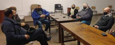 El Obispo Monseñor Gabriel Mestre recibio a Cooperativistas de Mar del Plata en el marco de la cultura del encuentro