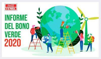 Coca-Cola FEMSA publica su primer informe del Bono Verde