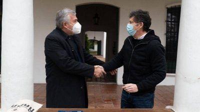 Gustavo Posse recibió al gobernador de Jujuy Gerardo Morales