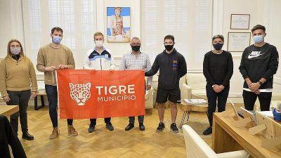 Zamora destacó la trayectoria deportiva de atletas tigrenses que disputarán competencias internacionales