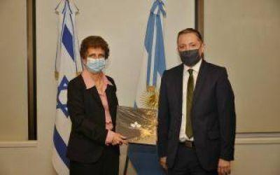Esteban Echeverría: Gray mantuvo una reunión con la embajadora de Israel en Argentina, Galit Ronen