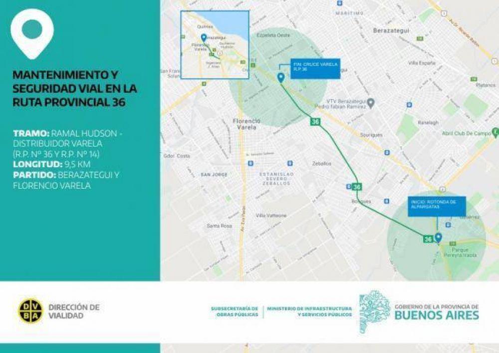 Cuáles son las obras que se realizarán en la Ruta 36 desde Alpargatas al Cruce Varela