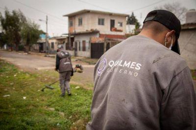 Jornada integral de limpieza en el barrio La Esperanza