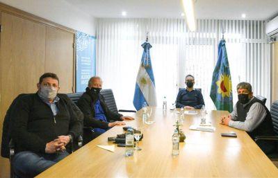 Reunión clave entre Plaini, Moyano, Carpinetti y Larroque de cara al trabajo social en Provincia de Buenos Aires
