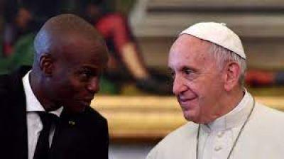 Papa Francisco envía condolencias por asesinato de presidente de Haití