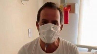 Escobar: Sujarchuk sigue internado por coronavirus
