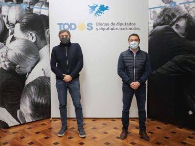 Andrés Watson se reunió con Máximo Kirchner