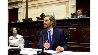 Cafiero anunció la compra de vacunas a Moderna y acusó a la oposición de buscar
