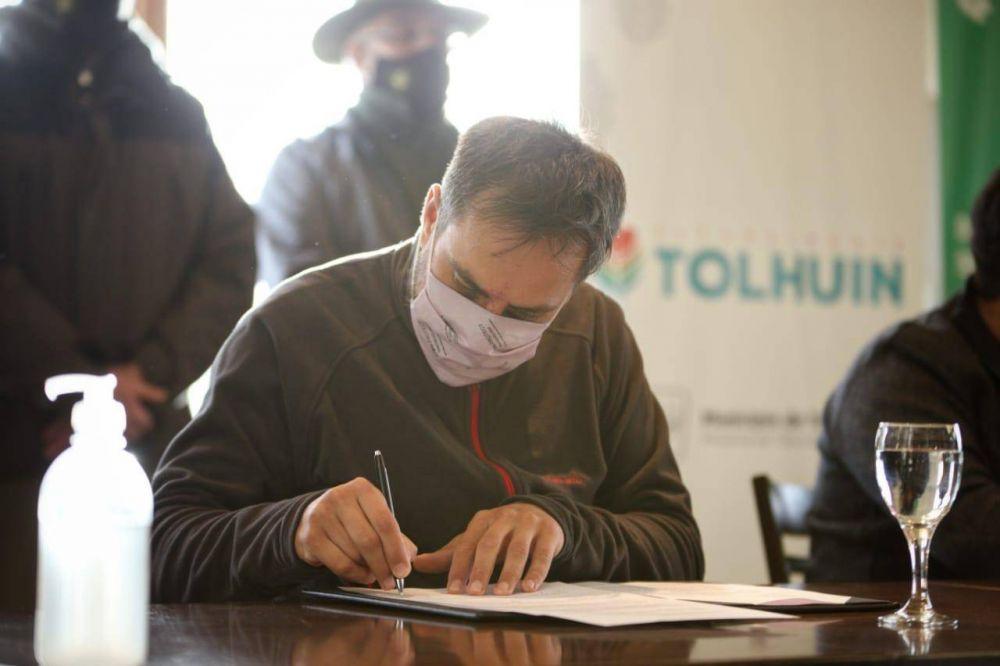 Cabandié anunció obras de gestión de residuos para toda la provincia de Tierra del Fuego