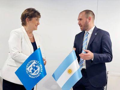 Encuentro entre Guzmán y Georgieva, con eje en asimetrías y deuda insostenible con el FMI