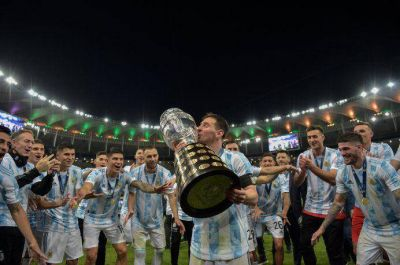 Argentina campeón de la Copa América: un grito que tardó 28 años y que le sacó la espina a Messi