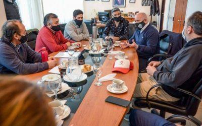 Sastre se reunió con los referentes de la CGT