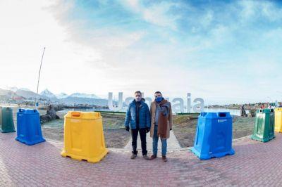 La ciudad recibió 30 campanas de reciclado