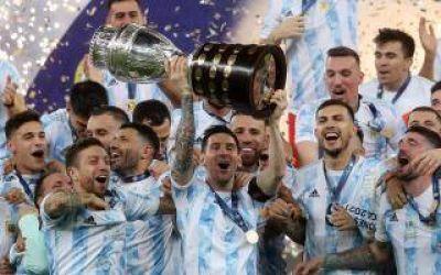 Argentina Campeón: Intendentes y Kicillof festejaron sin grieta el triunfo de la selección