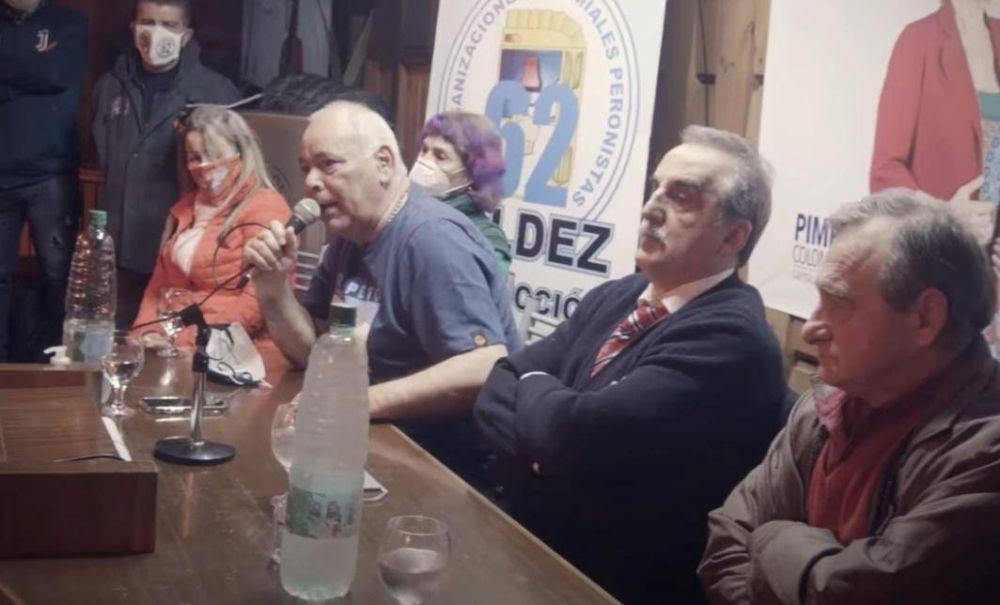 La 62 Organizaciones de Moyano cierra listas con Guillermo Moreno