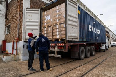 Llegaron a la Provincia donaciones de la Agencia de la ONU para Refugiados