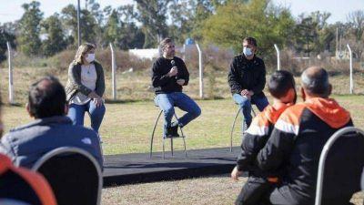 Achával anunció la construcción del Club Municipal Tribarrial de San Alejo