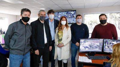 Avellaneda inauguró un nuevo centro de monitoreo para sus cámaras de seguridad