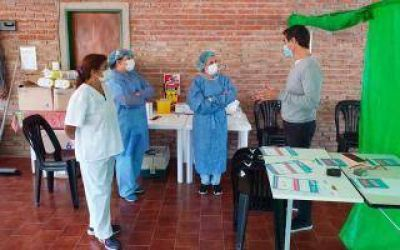 Punta Indio se convirtió en el primer distrito de la provincia y del país que ya tiene a toda su población vacunada