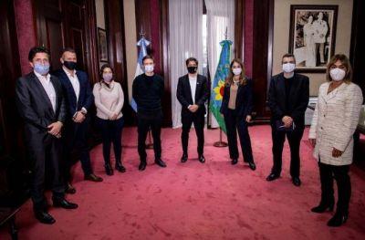 Empresarios de Lanús participaron de la reunión con Kicillof y la Cámara Empresarial Bonaerense.