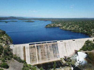 Acueductos troncales: se inaugura el Dique Pichanas - El Chacho
