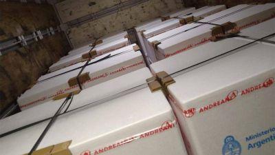 Llegó a Córdoba una nueva partida de 64.000 dosis de Sinopharm