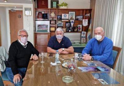 La FATLyF recibió la visita del Dr. Héctor Recalde
