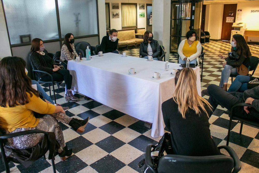 El Intendente recibió a representantes de agencias de turismo de la ciudad