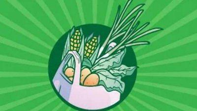 Vuelve el bolsón popular de frutas y verduras