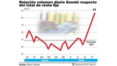 El dólar Senebi gana terreno frente al contado con liqui y MEP