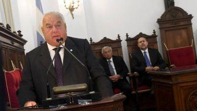 El principal juez de la Corte Suprema de Santa Fe mencionado en un complot contra Perotti