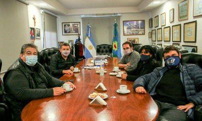 Mario ishii recibió a Juan Grabois en José C Paz